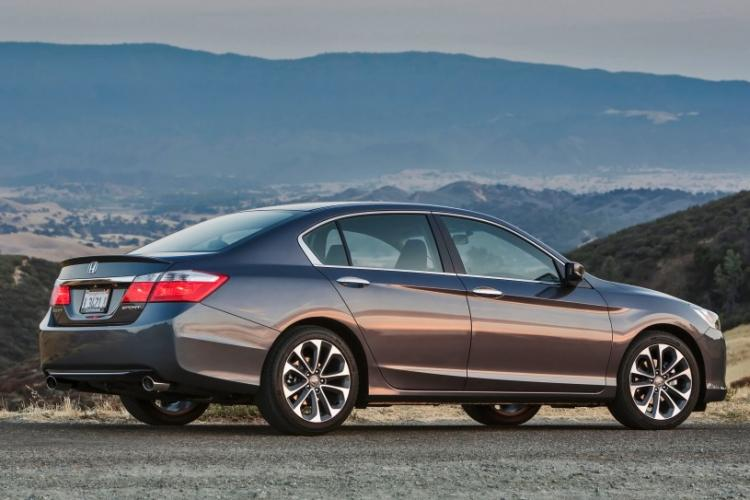 2014 Charcoal /Graphite Honda Accord Sport Sedan CVT (1HGCR2F54EA) with an 2.4L L4 DOHC 16V engine, Continuously Variable Transmission transmission, located at 1313 Las Vegas Blvd, Las Vegas, NV, 89109, (888) 750-6845, 36.002834, -115.201302 - Photo #8